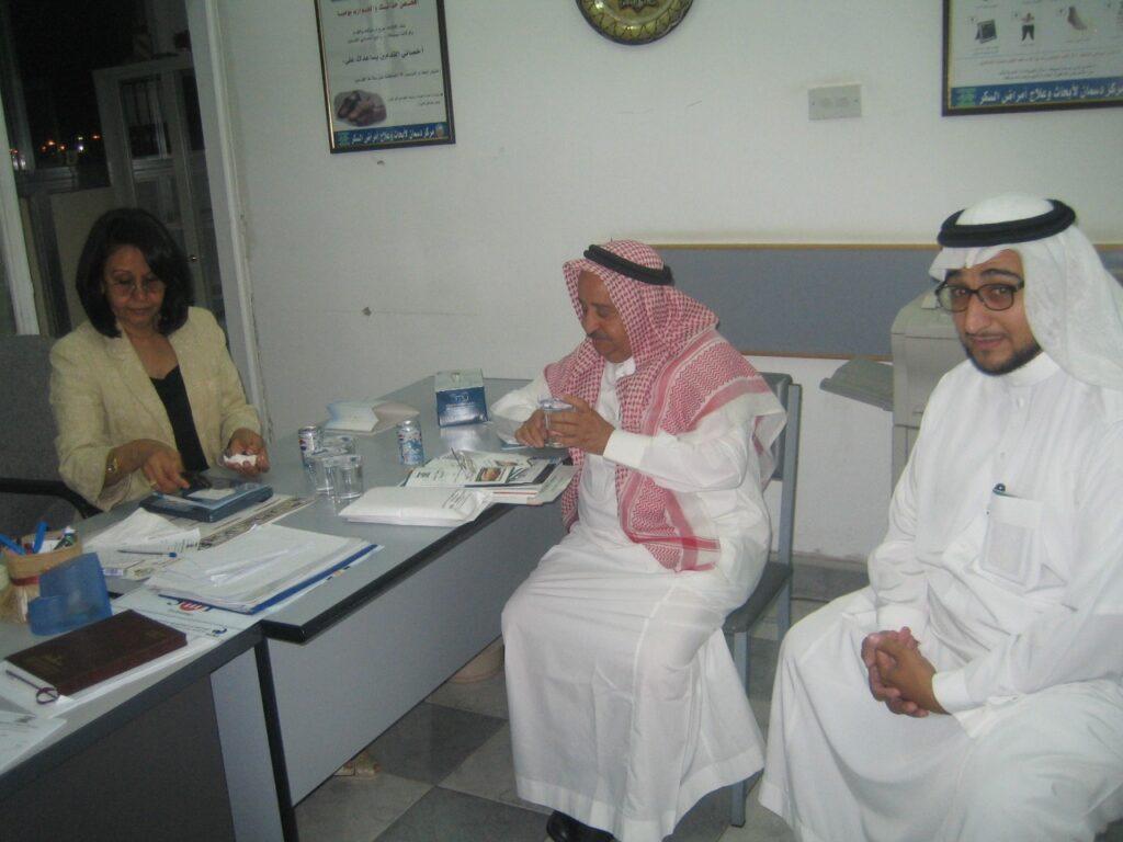 زيارة رابطة السكر الكويتية